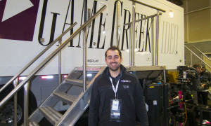 Keith Martin, Production Manager, FOX Sports Mobile Unit/Game Creek Video